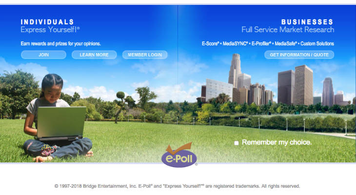 E-Poll screenshot