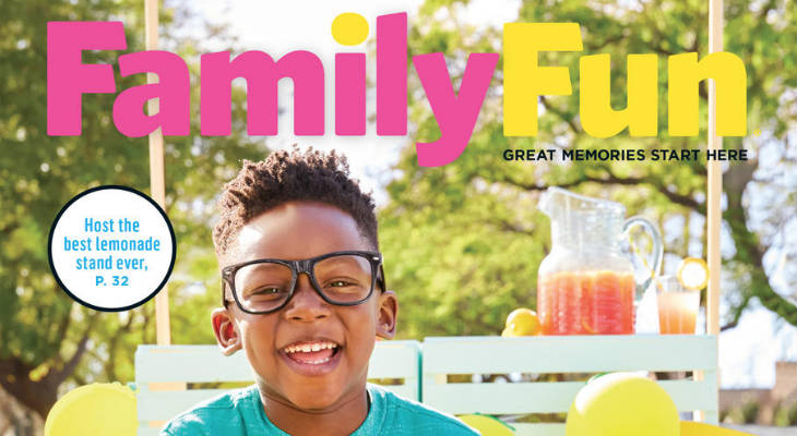 Family Fun Magazine screenshot