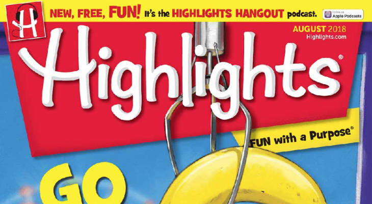Highlights Magazine screenshot