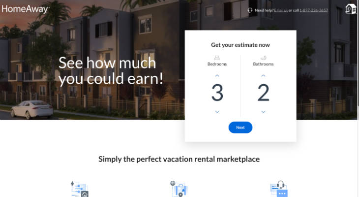 HomeAway screenshot