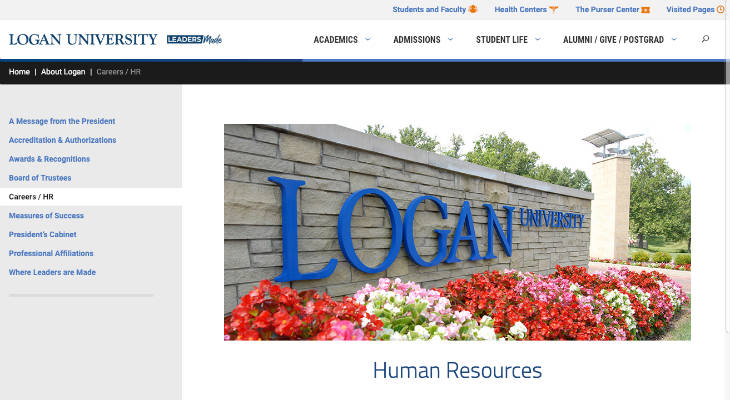 Logan University Standardized Patient screenshot