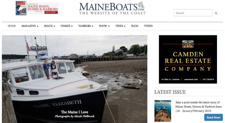 Maine Boats, Homes & Harbors screenshot