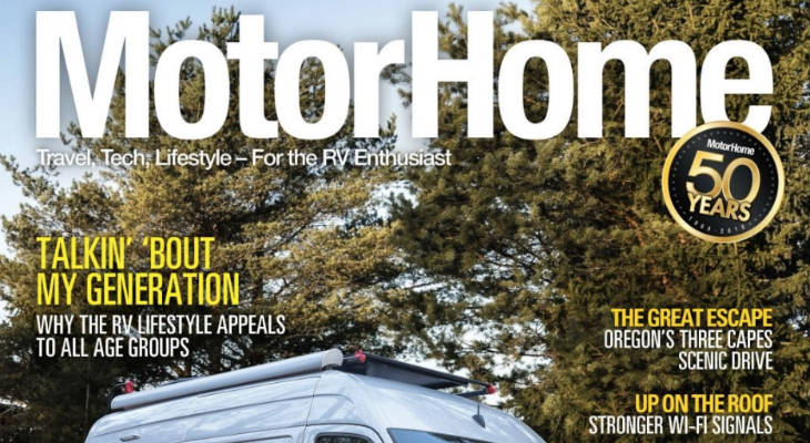 MotorHome Magazine screenshot