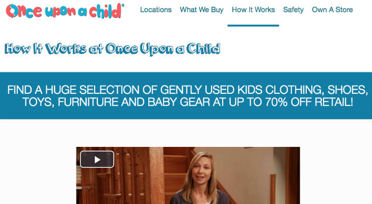 Once Upon A Child screenshot