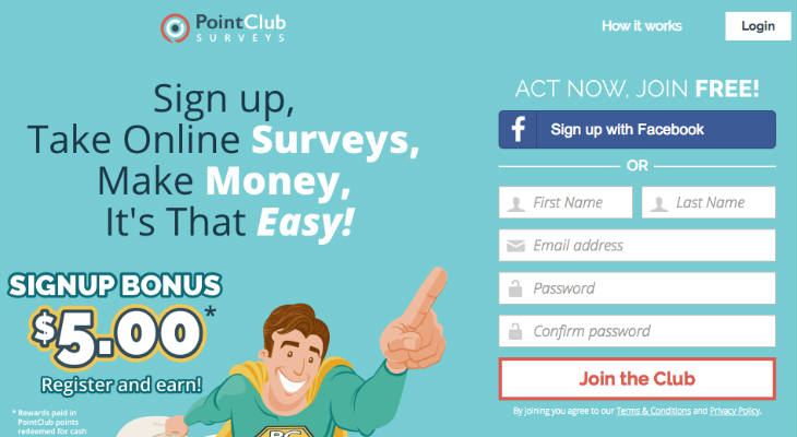 PointClub screenshot