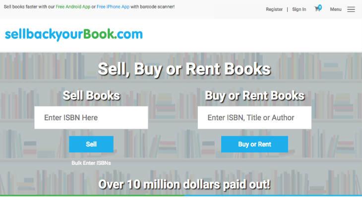 SELLBACKYOURBOOK < Sell Textbooks < Make Money < Giigs.us