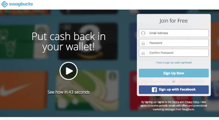 Swagbucks screenshot