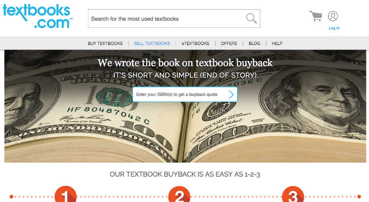Textbooks.com screenshot