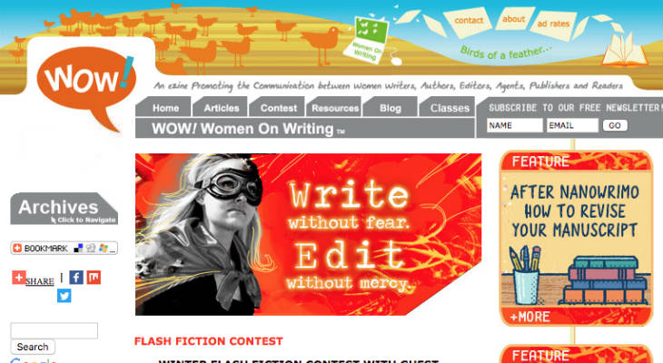 WOW! Women On Writing screenshot